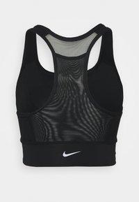Nike Performance - POCKET BRA PAD - Sport-BH mit mittlerer Stützkraft - black/white - 1
