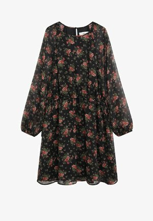 MAURA - Day dress - rouge