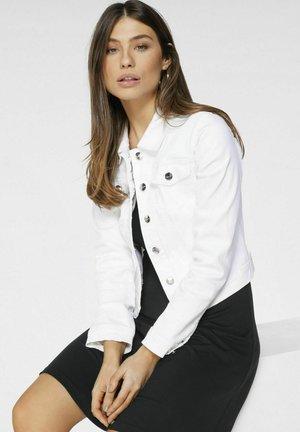 Jeansjacke - weiß