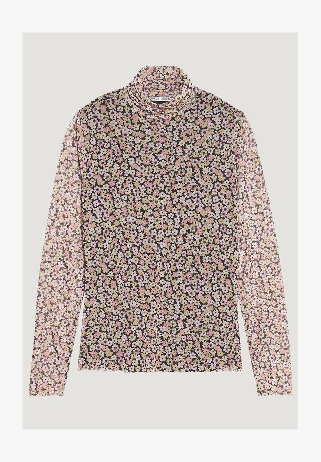 LS FLOWER BOMB - Blouse - strawberry ice