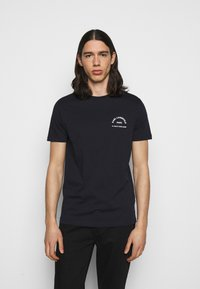 KARL LAGERFELD - CREWNECK - Print T-shirt - midnight blue - 0