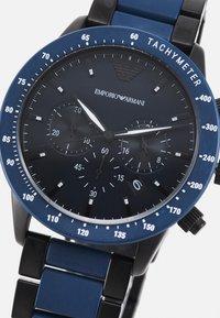 Emporio Armani - Hodinky se stopkami - blue - 3