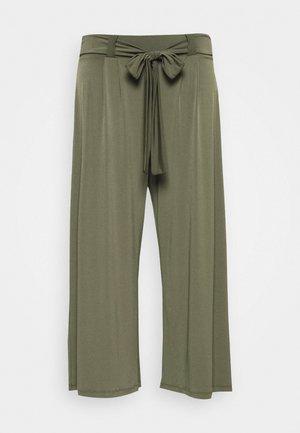 CARTONIA PALAZZO PANT - Spodnie materiałowe - kalamata