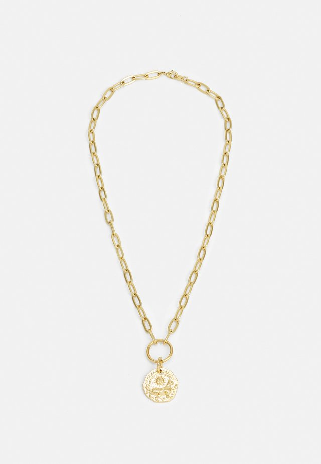 MOONLIGHT UNISEX - Necklace - gold-coloured