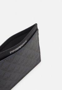 Emporio Armani - CARD HOLDER UNISEX - Wallet - black - 2