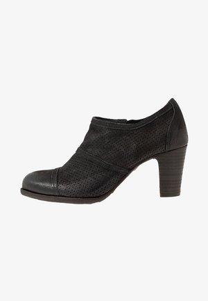 WANDA - Boots à talons - pacific/black