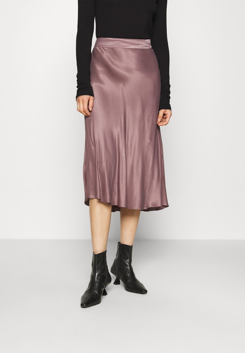Second Female - EDDY NEW SKIRT - Áčková sukně - peppercorn