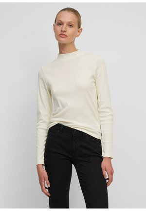 Long sleeved top - pistachio shell