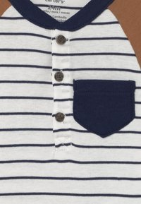 Carter's - HENLEY SET - Print T-shirt - dark blue - 2