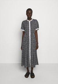 MAX&Co. - CABINA - Shirt dress - black - 3