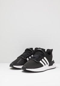 adidas Originals - U_PATH RUN - Trainers - core black/footwear white/shock red - 3