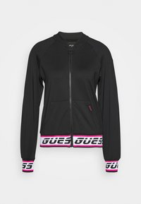 Guess - Fleecová bunda - jet black - 0