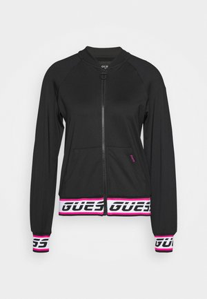 Fleece jacket - jet black