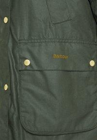 Barbour - AUSTEN WAX - Light jacket - dark green - 7