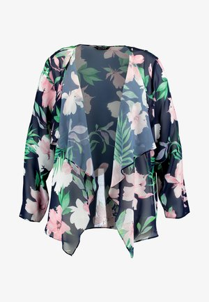 TROPICAL PRINT KIMONO - Summer jacket - multi