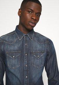 Replay - Shirt - dark blue denim - 4