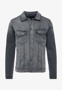 Jack & Jones - JJIALVIN JJJACKET - Denim jacket - black denim - 4