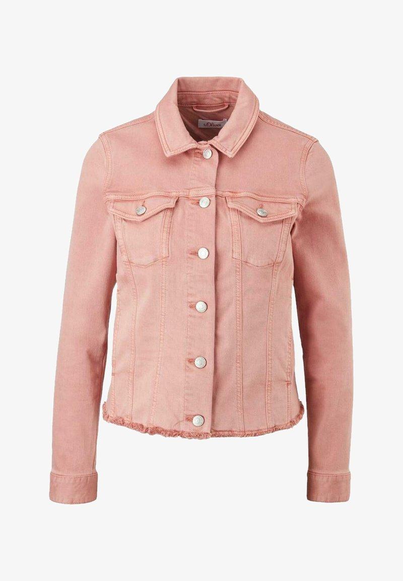s.Oliver - Denim jacket - light pink