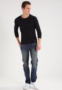 Blend - Long sleeved top - black - 1