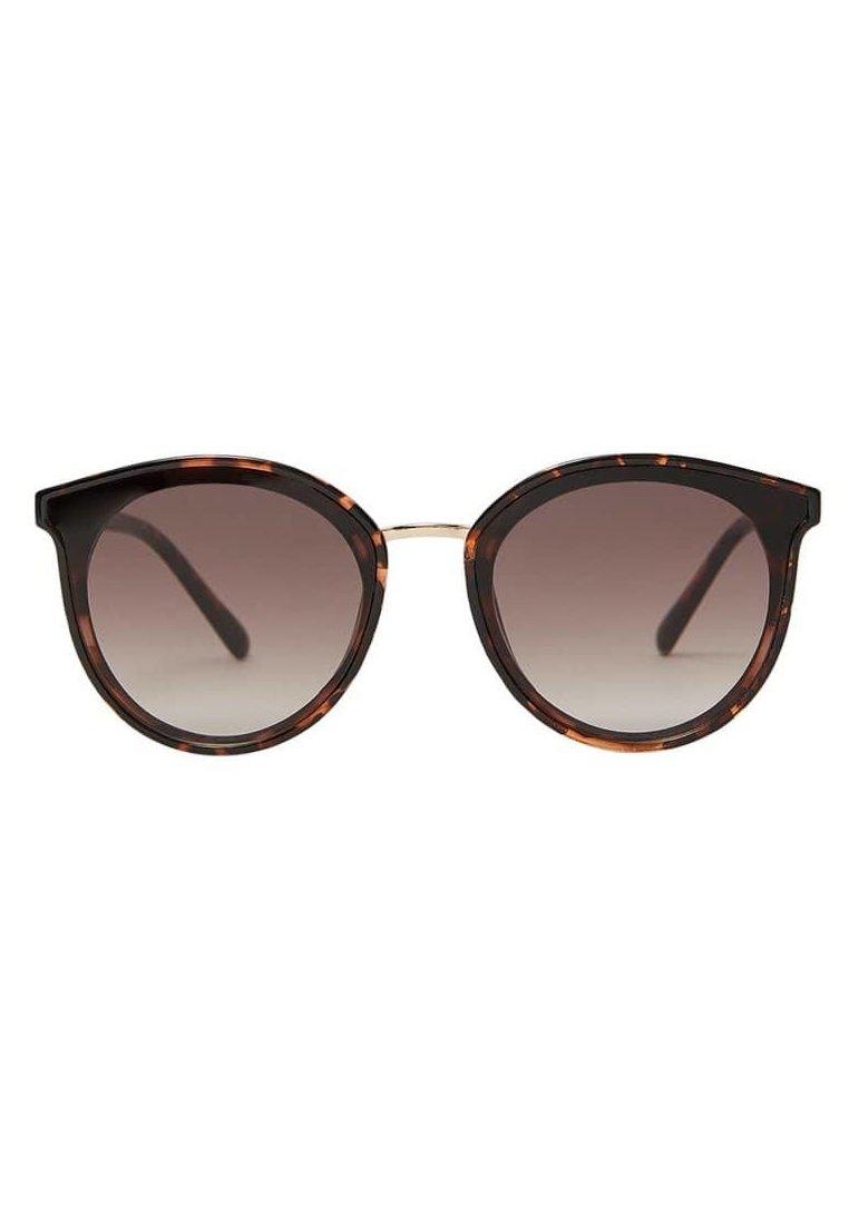 Stradivarius - MIT ACETATGESTELL - Sunglasses - brown