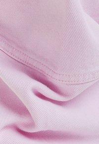 Bershka - MIT PUFFÄRMELN  - Denim jacket - pink - 5