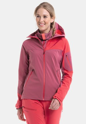 PENIA L - Soft shell jacket - pink