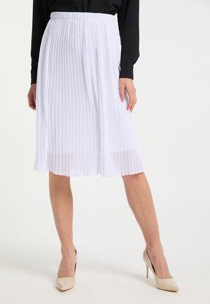 Áčková sukně - weiss