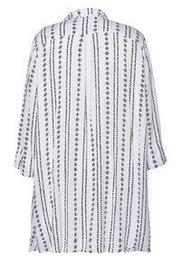 Studio - JYTTE - Button-down blouse - white black - 1