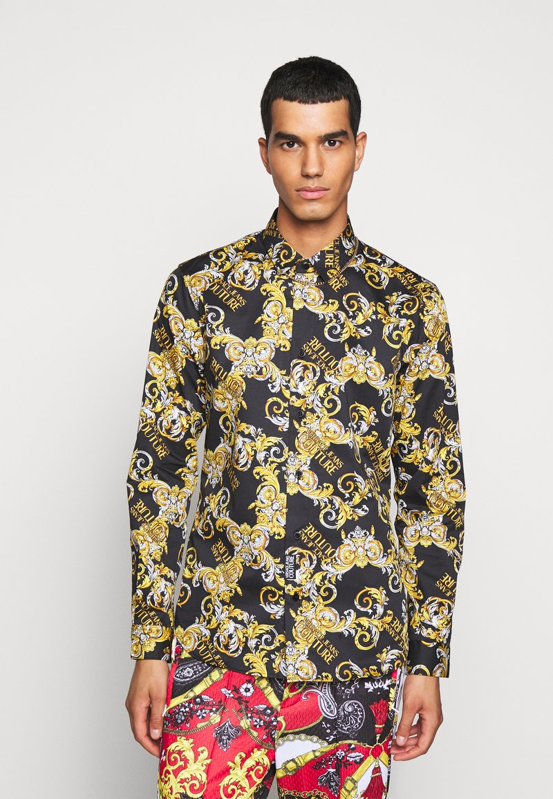 Versace Jeans Couture - PRINT LOGO NEW - Shirt - nero