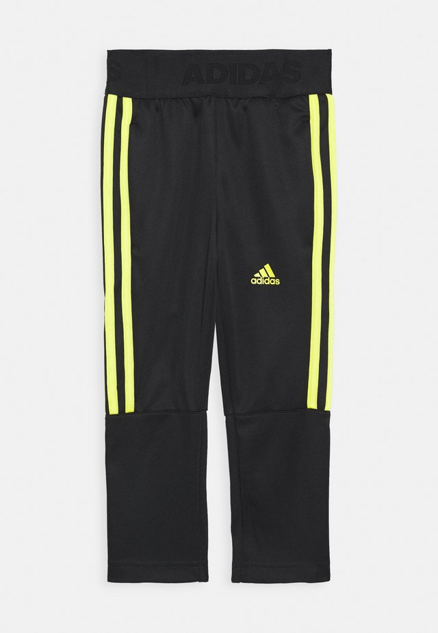 TIRO STADIUM LEAGUE AEROREADY PANTS - Pantaloni sportivi - black/yellow
