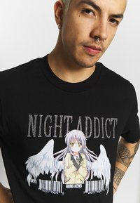 Night Addict - MECH - Print T-shirt - black - 4