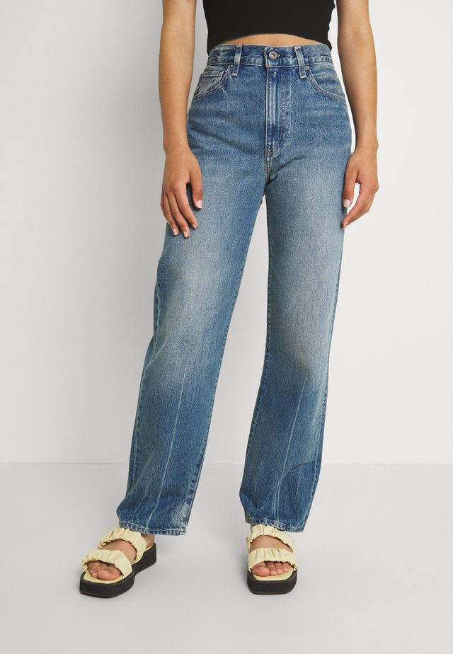 LONG COLUMN - Relaxed fit jeans - bespoke blue