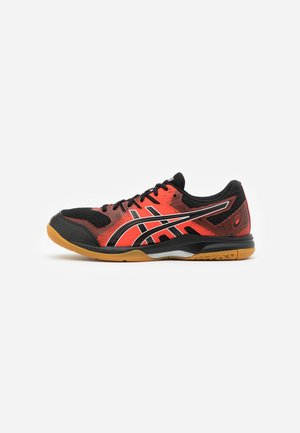 GEL-ROCKET 9 - Volleyball shoes - black/fiery red