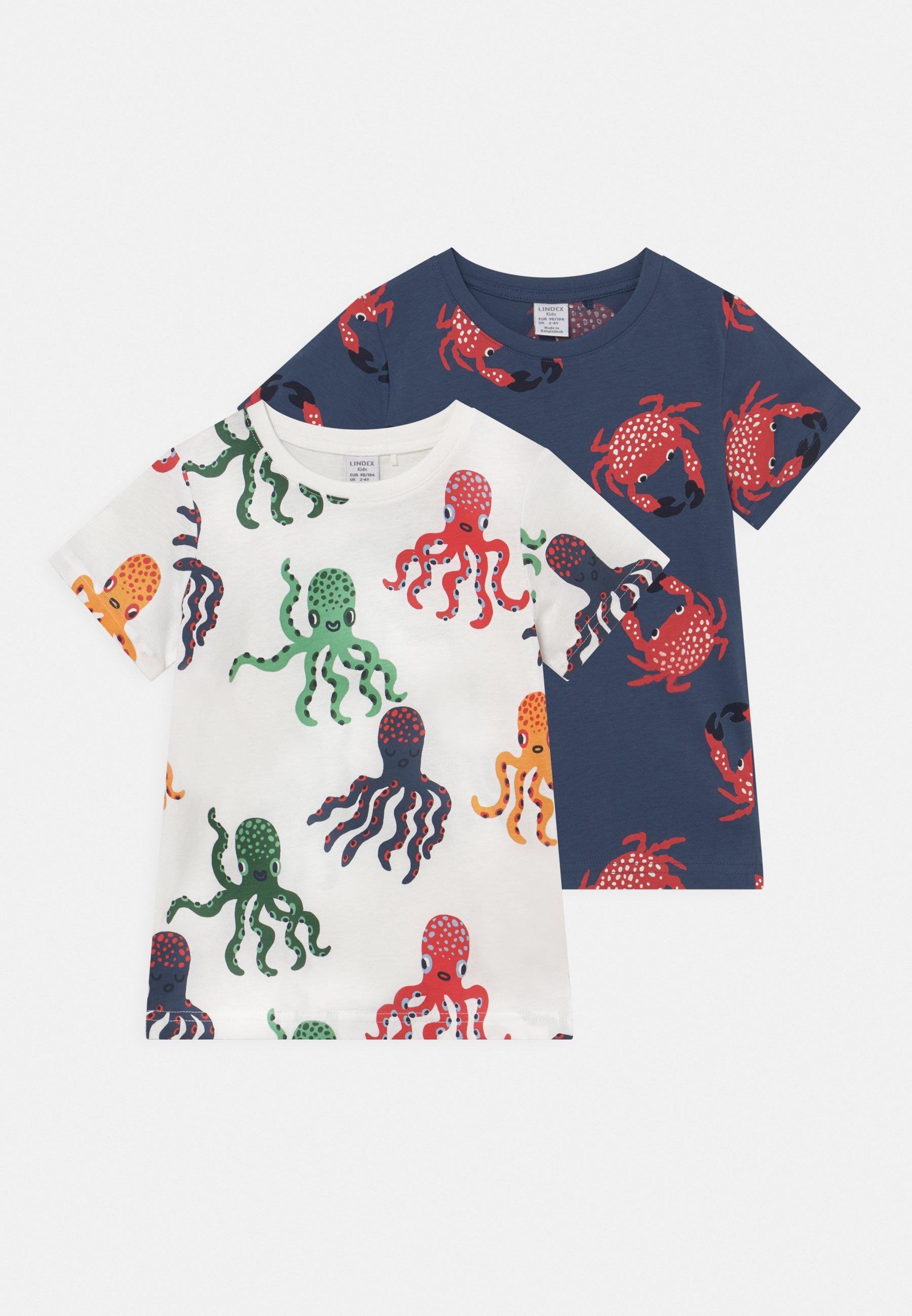 Kids MINI CRAB 2 PACK UNISEX - Print T-shirt