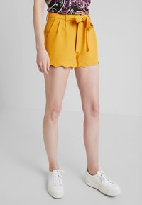 Anna Field - Shorts - dark yellow - 0