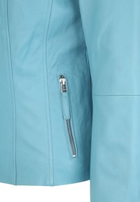 KRISS - PAULINA - Leren jas - blue - 3