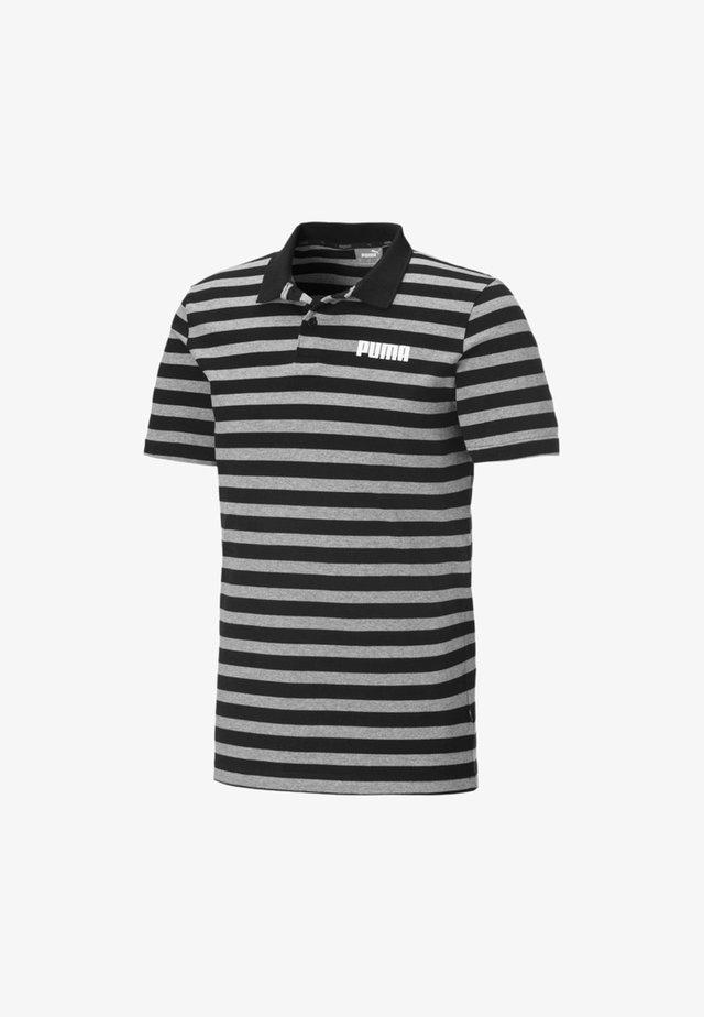 ELEVATED ESSENTIALS  - Polo - cotton black