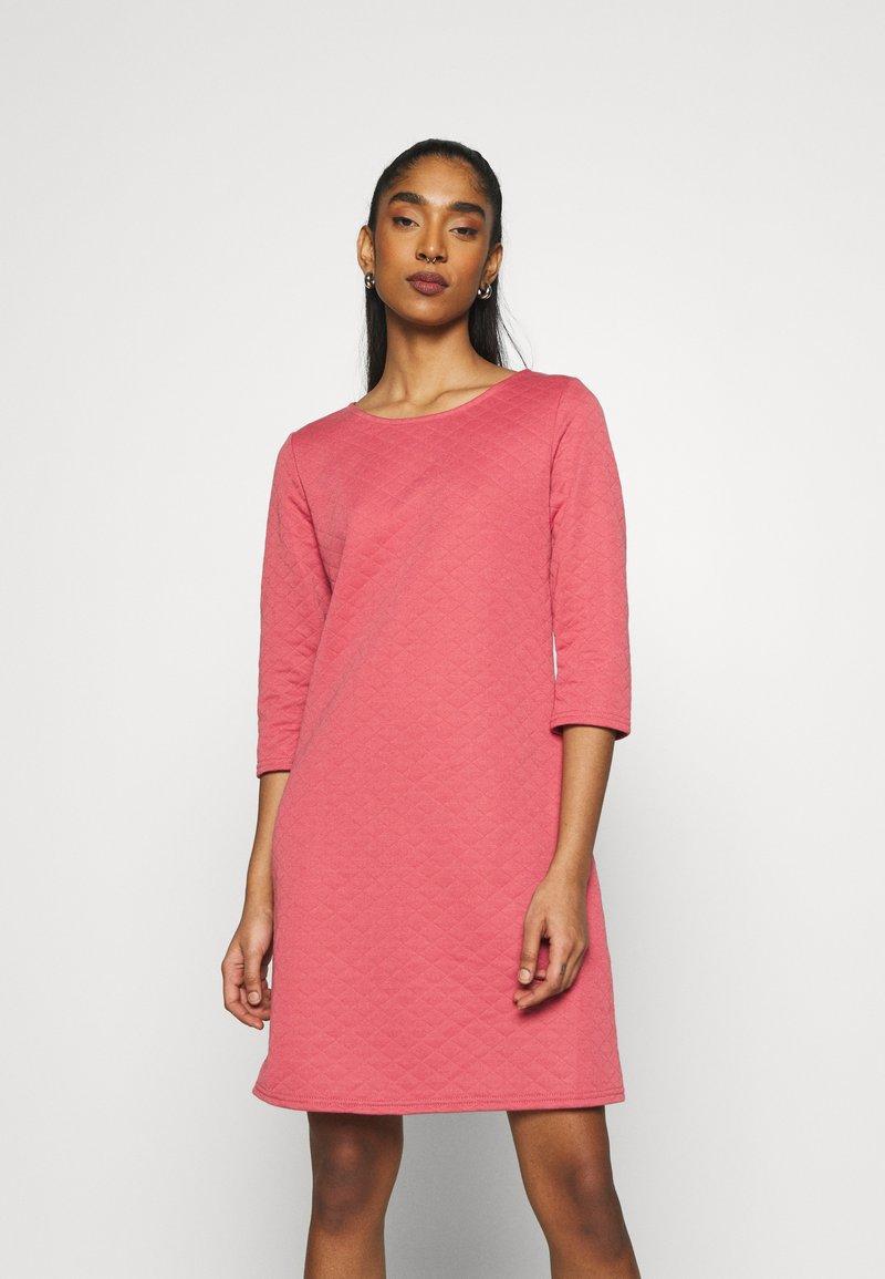 ONLY - ONLJOYCE 3/4 DRESS  - Jersey dress - baroque rose