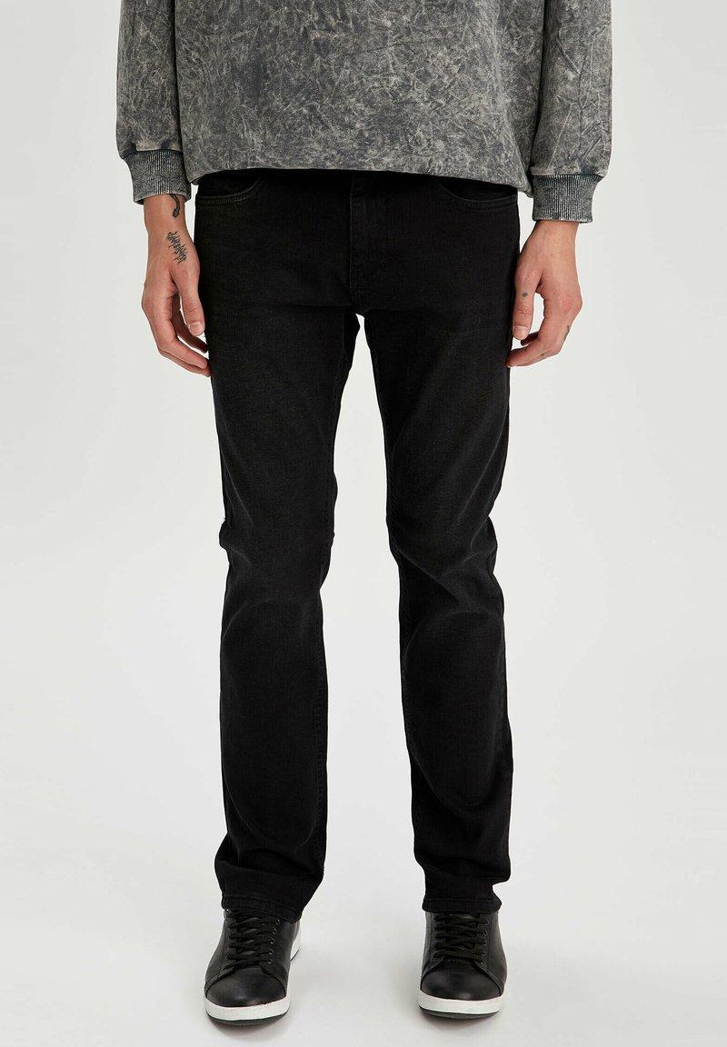 DeFacto - Jeans slim fit - black