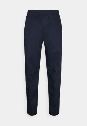 RELAXED CUFFED TRAINER - Cargo trousers - sartho blue