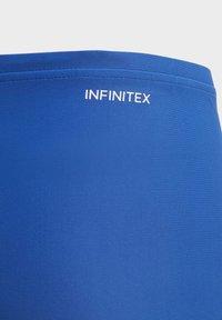 adidas Performance - BADGE OF SPORT SWIM BOXERS - Swimming trunks - blue - 2