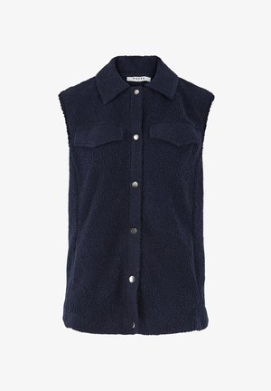 Waistcoat - navy blazer