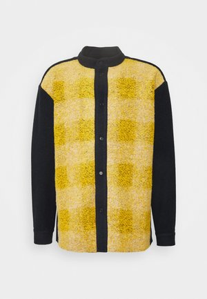 BATH JACKET - Lehká bunda - black/yellow
