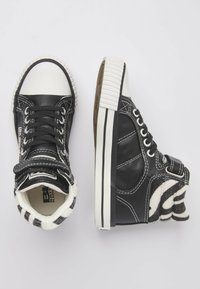 British Knights - ATOLL - High-top trainers - black/zebra - 1
