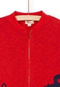 Du Pareil au Même - Sweater met rits - heather red - 2