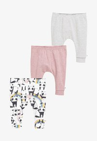 Next - THREE PACK  - Trousers - pink - 0