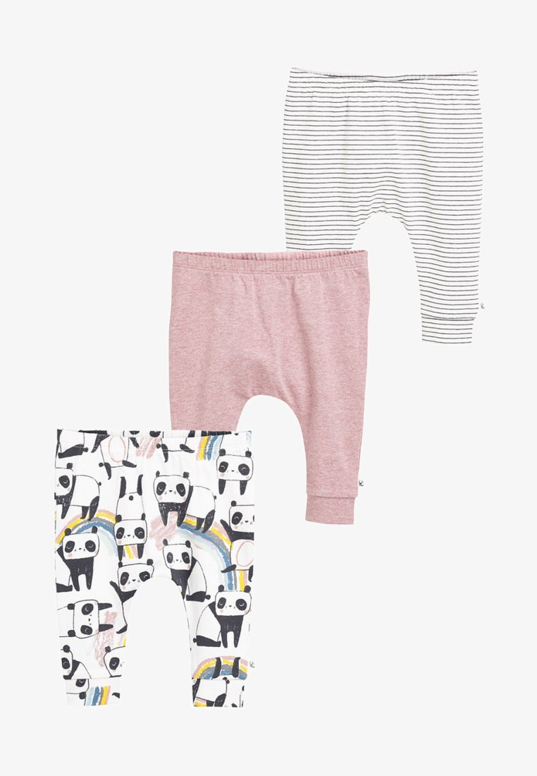 Next - THREE PACK  - Trousers - pink