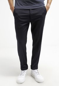 Filippa K - TERRY  - Trousers - navy - 0