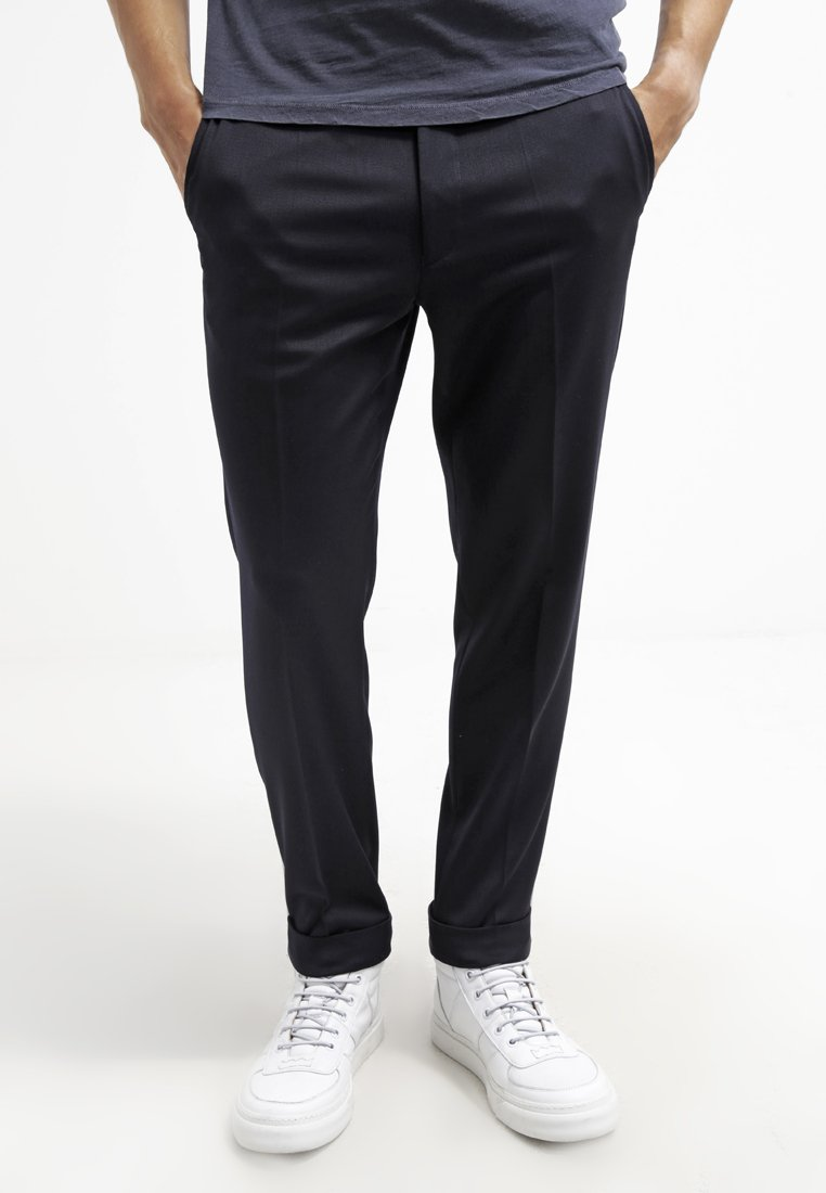 Filippa K - TERRY  - Trousers - navy