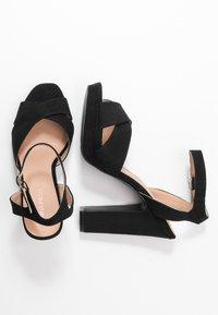 Anna Field - Sandaler med høye hæler - black - 3